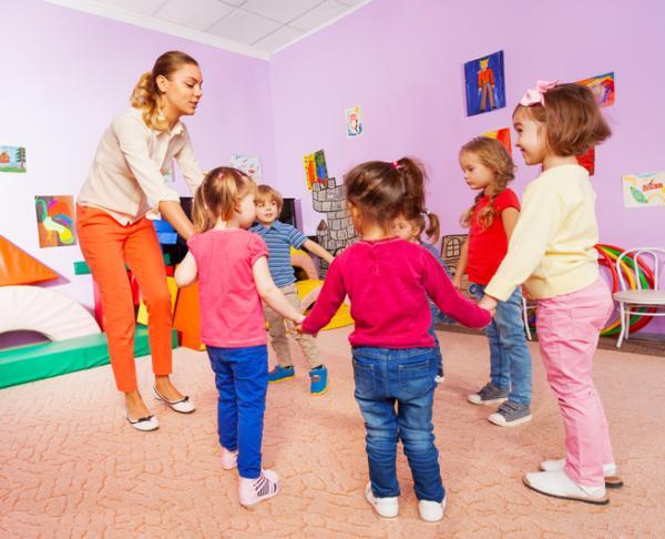 Meditación para niños: ejercicios y técnicas - Juego del corro