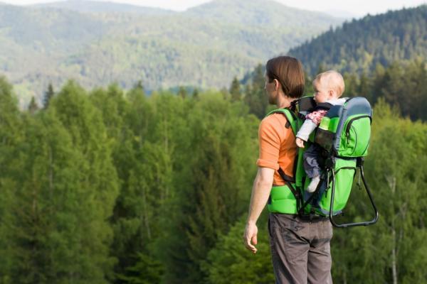 ¿Cuándo empezar a usar mochila portabebés?