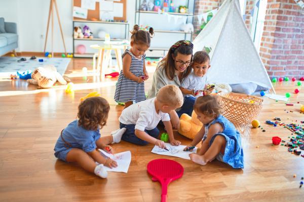 Actividades para bebés en guardería