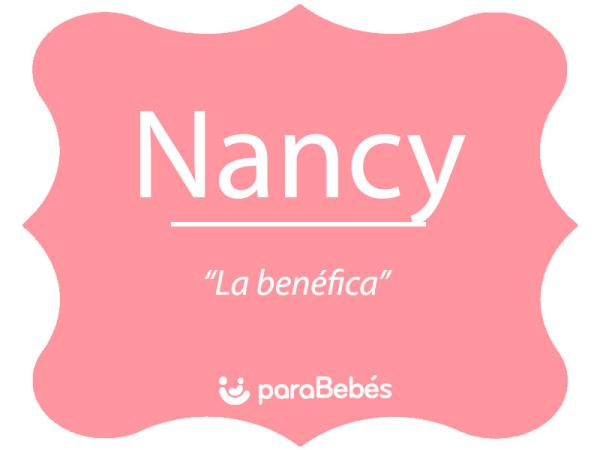 Significado del nombre Nancy