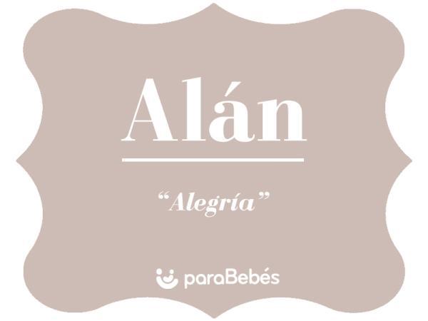 Significado del nombre Alán