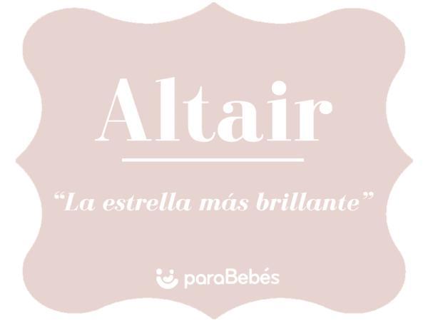 Significado del nombre Altair
