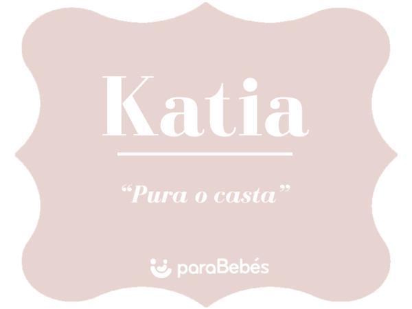 Significado del nombre Katia