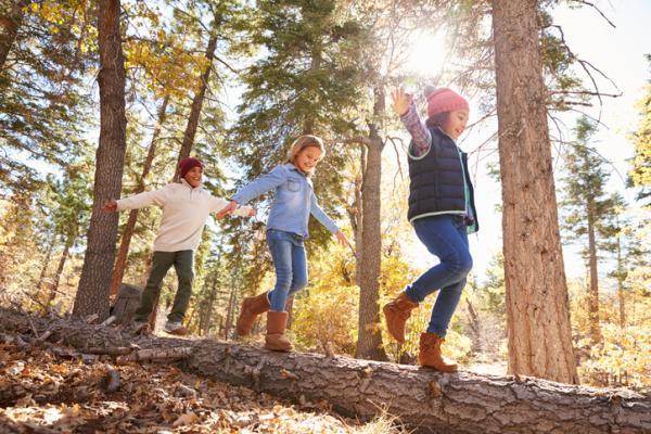Juegos en la naturaleza para niños