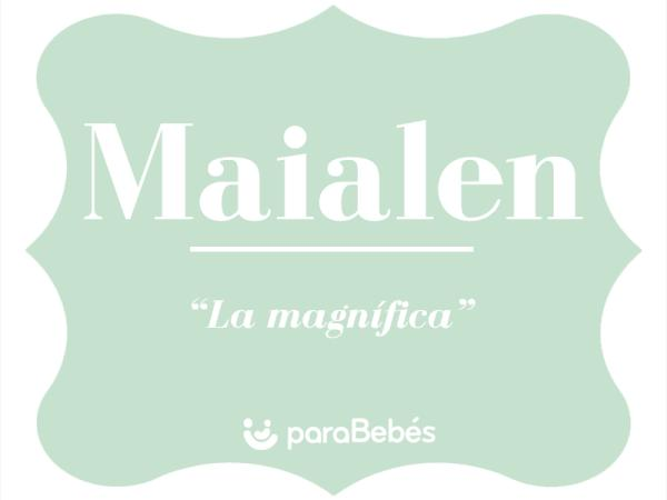 Significado del nombre Maialen
