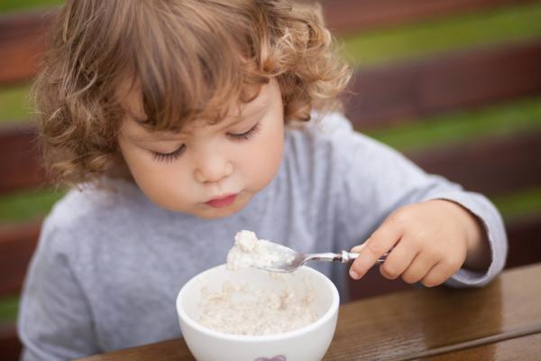 Cereales para bebés de 6 meses - Avena