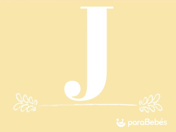 Nombres de niño con la letra J