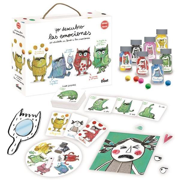 Juegos educativos para niños de 5 a 6 años - El monstruo de las emociones