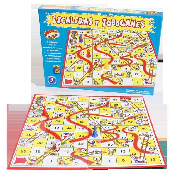 Juegos educativos para niños de 5 a 6 años - Escaleras y toboganes