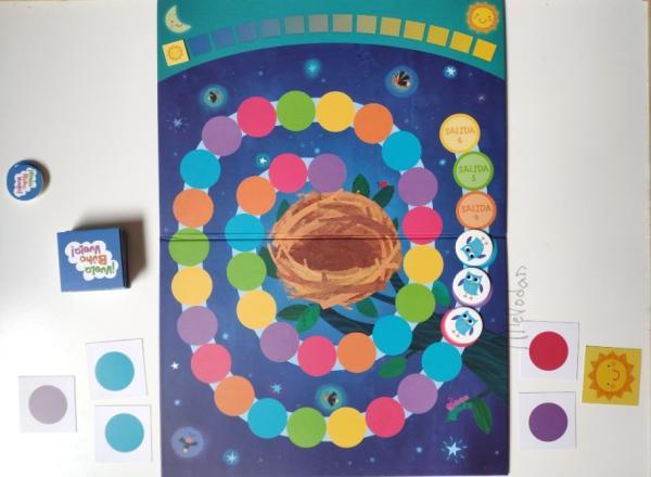 Juegos educativos para niños de 5 a 6 años - ¡Vuelo búho, vuela!