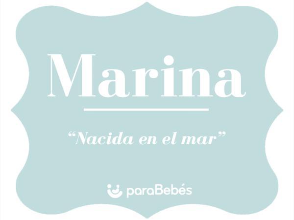 Significado del nombre Marina