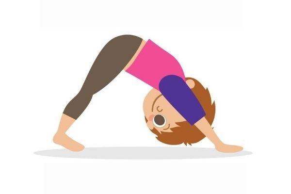 Posturas de yoga para niños - El perro