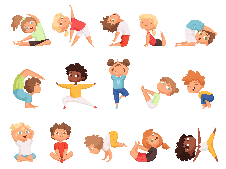 15 Posturas De Yoga Para Niños Con Explicación E Imágenes