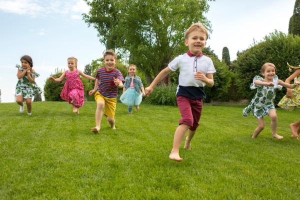 Juegos al aire libre para niños - El pañuelo