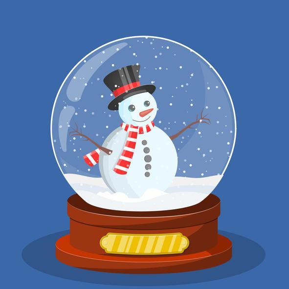 Actividades navideñas para niños/as - Bola de navidad