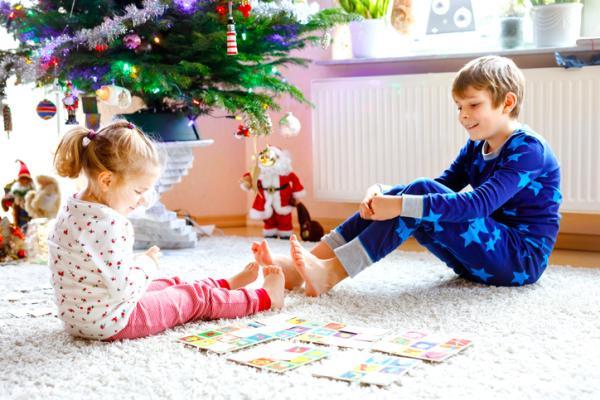 Actividades navideñas para niños/as - Día de juegos navideños en familia