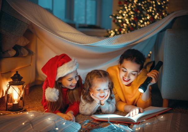 Actividades navideñas para niños/as - Velada de cuentos