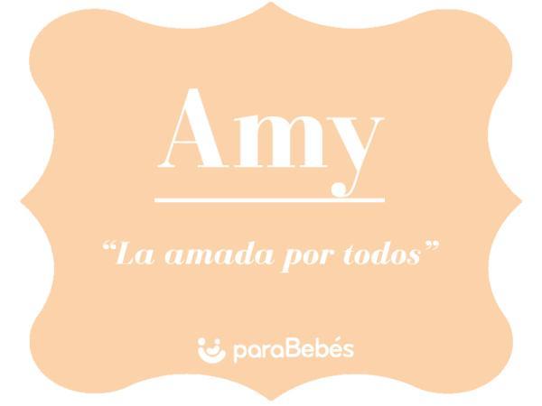 Significado del nombre Amy