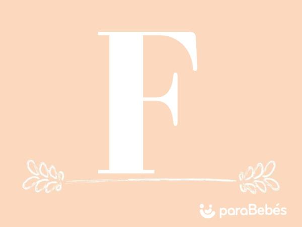Nombres de niña con la letra F