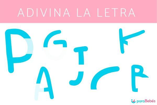 Juegos para aprender las letras - Adivina la letra
