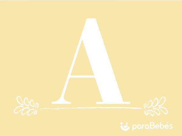 Nombres de niño con la letra A