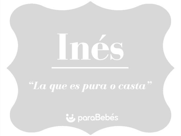 Significado del nombre Inés