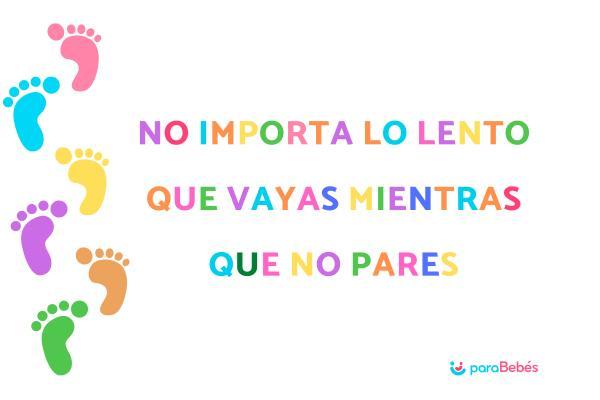 Frases motivadoras para niños/as - Frases positivas