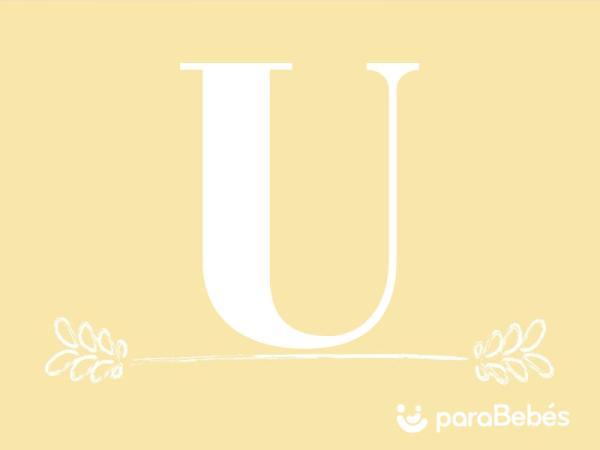 Nombres de niño con la letra U