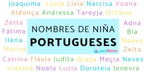Nombres de niñas portugueses