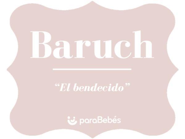 Significado del nombre Baruch