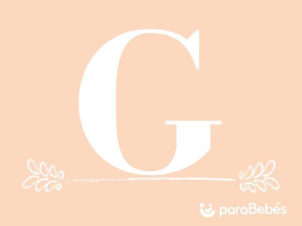 Nombres de niña con la letra G