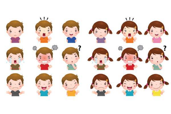 Juegos de inteligencia emocional para niños/as - Memory de emociones