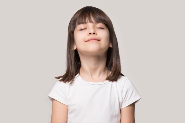 Ejercicios de respiración para niños - El búho