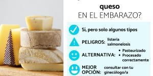 ¿Se puede comer queso en el embarazo?