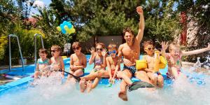 Juegos de piscina para niños/as