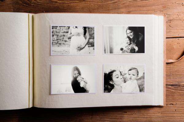 Lista regalos para un baby shower - Álbum de fotos del primer año