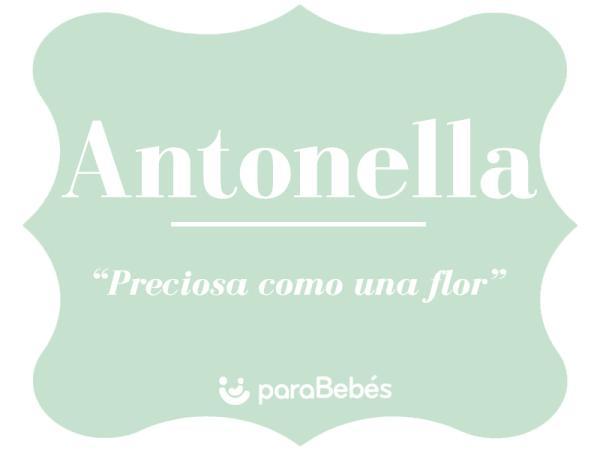 Significado del nombre Antonella