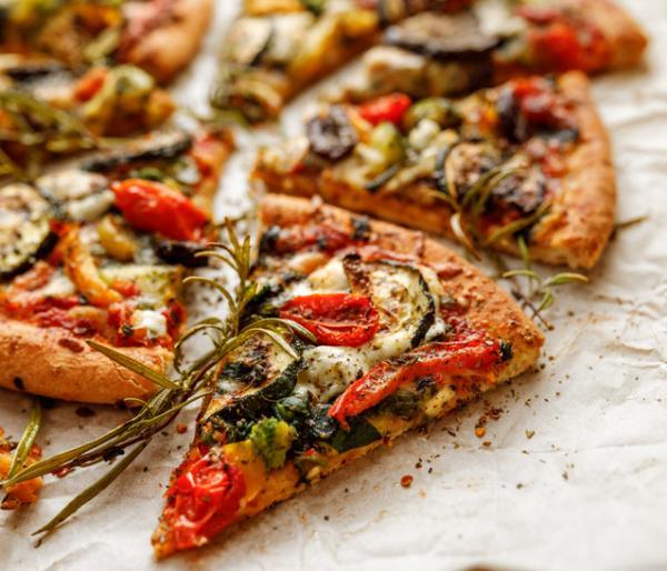 Cenas saludables para niños - Pizza