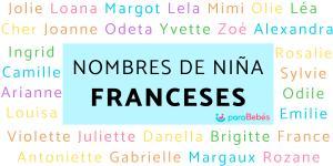 Nombres de niña franceses y su significado