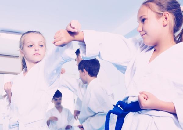Ejemplos de actividades extraescolares para niños - Artes marciales