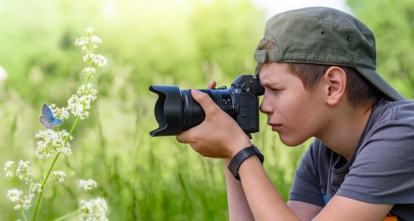 Ejemplos de actividades extraescolares para niños - Fotografía