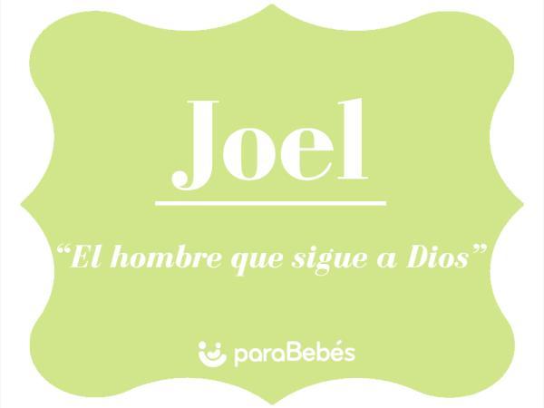 Significado del nombre Joel