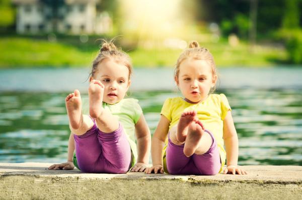 Juegos de psicomotricidad infantil - Mi espejo
