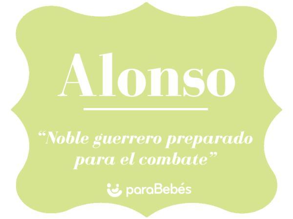 Significado del nombre Alonso