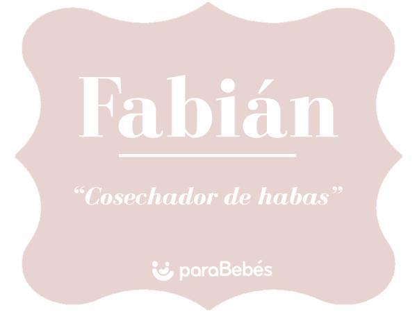Significado del nombre Fabián