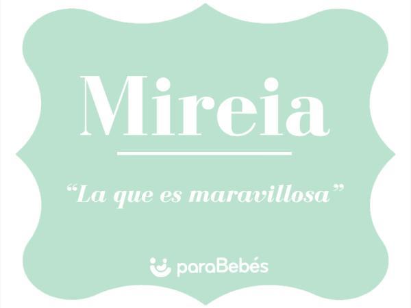 Significado del nombre Mireia