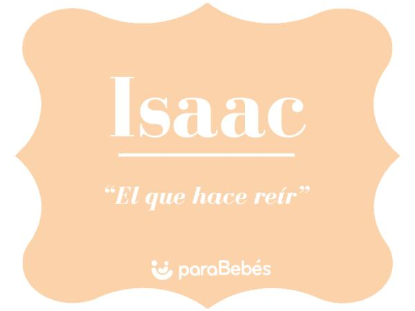 Significado del nombre Isaac