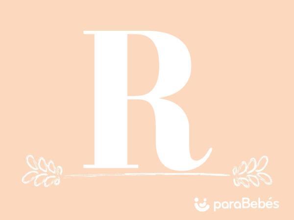 Nombres de niña con la letra R